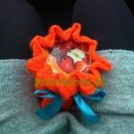 Słoik w kolorze pomarańczy